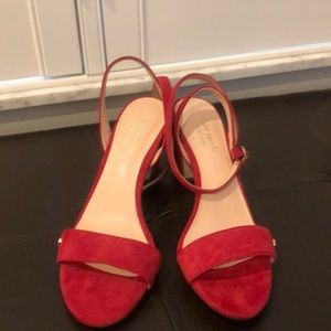 Beautiful red sandals size6